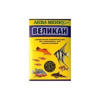 Аква Меню ВЕЛИКАН корм для аквариумных рыб крупных размеров