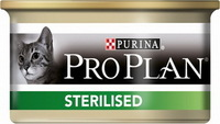 Pro Plan Sterilized (лосось, тунец), 85 гр.