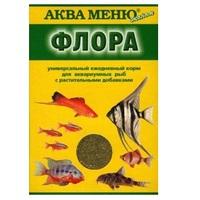 Аква Меню ФЛОРА ежедневный корм для аквариумных рыб