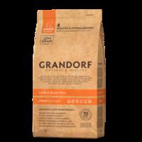 GRANDORF Junior 12 кг- ягнёнок с бурым рисом для юниоров