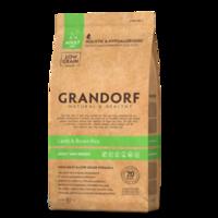 GRANDORF Mini Adult Lamb 3кг - ягнёнок с бурым рисом для собак мини пород