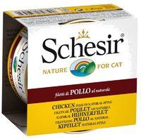 Schesir Cat 85г конс. д/кошек ж/б Куриное филе натуральное