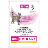 Проплан паучи д/кошек при мочекаменной болезни VETERINARY DIETS UR URINARY (курица), 85 гр.
