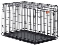 MidWest iCrate клетка для животных, 1 дверь,черная, размер 76*48*53*