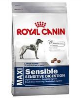 Роял Канин корм для собак крупных пород MAXI Sensible, 18 кг, с чувствительным пищеварением