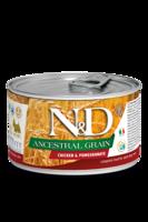 N&D Dog 140 гр д/собак Курица,Гранат низкозерновой