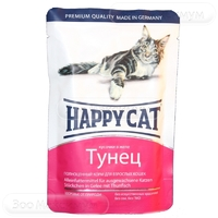 Happy Cat с тунцом в желе 100 г