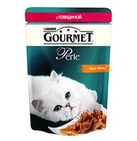 Gourmet Perle паучи с говядиной в подливке 85 г