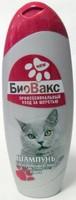 «БиоВакс» Шампунь для короткошерстных пород кошек, 305 мл