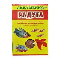 Аква Меню РАДУГА ежедневный экструдированный корм для рыб