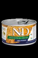 N&D Dog 140 гр д/собак Ягненок,Черника низкозерновой