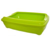 """Туалет Moderna """"Aristo-o-Tray"""" с бортиком 38*50*14 красный, серый, синий,зел. д/кошек"""