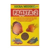 Аква Меню РАДУГА-2 ежедневный экструдированный корм для рыб