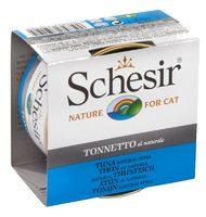 Schesir Cat 85г конс д/кошек Тунец натуральный