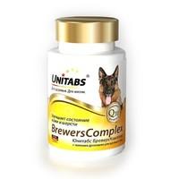UNITABS Brevers Комплекс добавка с пивными дрожжами д/крупных собак 100шт