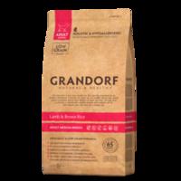 GRANDORF Medium Adult 1 кг - ягнёнок с бурым рисом для собак средних пород