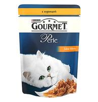 Gourmet Perle паучи с курицей в подливке 85 г