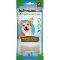 Деревенские лакомства Зубочистики кальциевые для собак средних пород