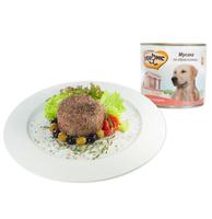 Мнямс 600г конс. д/собак Мусака по-ираклионски ягн.овощ.
