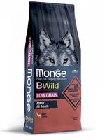Корм MONGE BWILD 12кг для собак всех пород оленина низкозерновой
