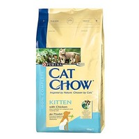 Cat Chow Kitten для котят с курицей 15 кг