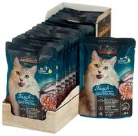 Leonardo 85г для кошек рыба креветки