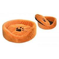 """Лежанка """"LISA"""" для кошек круглая с подушкой 60*60*18 см"""