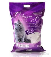 Наполнитель Lucky Cat 11 л.силикогелевый