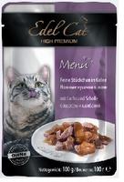 Edel Cat mit Lachs und Scholle (лосось и камбала в желе) 100 г