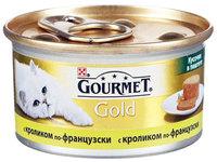 Gourmet Gold Террин с кроликом по французски, паштет 85 г