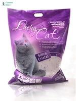 Наполнитель Lucky Cat 22 л. силикогелевый
