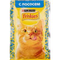 Friskies для кошек лосось 85г.