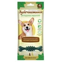 Деревенские лакомства Зубочистики мятные для собак средних пород