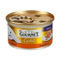 Gourmet Gold паштет с индейкой 85 г