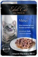 Edel Cat mit Lachs und Forelle (лосось и форель в соусе) 100 г