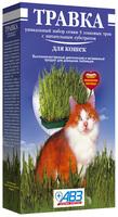 Травка для кошек АВЗ 170г, лоток для проращивания