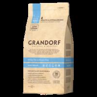 GRANDORF White Fish & Brown Rice Adult Indoor 2 кг - белая рыба с бурым рисом для взрослых кошек