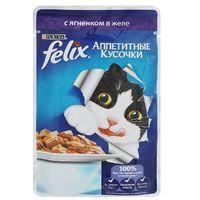 Felix Аппетитные кусочки с ягненком в желе, 85 гр.