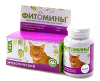 Фитомины для иммунитета д/кошек 100таб