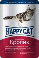 Happy Cat с кроликом в соусе 100 г