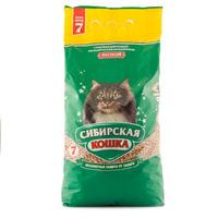 Сибирская кошка лесной, 7л наполнитель древесный