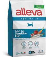Аллева эквилибриум сенсетив 1,5кг для кошек рыба