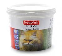 БЕАФАР  180шт Kitty*s Таурин-Биотин-Протеин-Сыр д/кошек