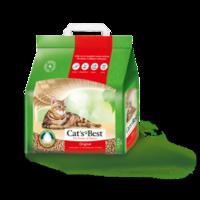 Наполнитель Cat's Best Eko Plus, 4.3 кг   древесный комкующийся