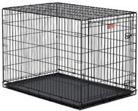 MidWest iCrate клетка для собак,размер 107*71*76см, дверь черная