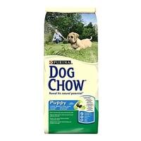 Dog Chow Puppy Large Breed с индейкой для щенков крупных пород, 14 кг