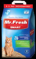 Mr.Fresh Smart Наполнитель для короткошерстных кошек 9л