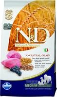 Корм N&D Dog корм Ягненок-Черника(Lamb & Blueberry) Adult Medium&Maxi 12 кг низкозерновой