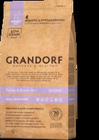 Grandorf 3кг д\собак мелких пород индейка бурый рис