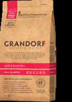 Корм GRANDORF 12кг для собак средних пород ягненок бурый рис